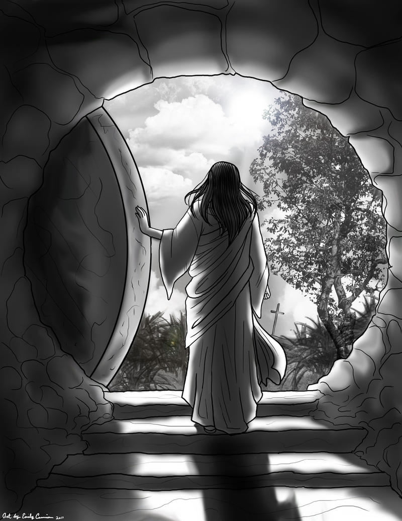 Jesus: I Am the Resurrection by OtakuEC