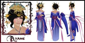 Ayame Character Sheet by EmilyCammisa