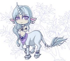 March 2013 Special Adoptable- Okali Colored -SOLD- by EmilyCammisa