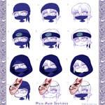 Robyn Ninja Masks by EmilyCammisa