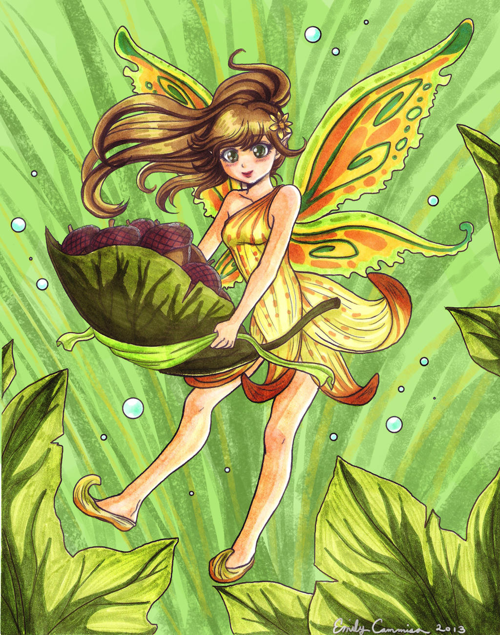 Fairy Sunclove Colored by OtakuEC