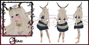 Jiao Character Sheet by EmilyCammisa