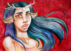 Faun with the Wind by EmilyCammisa