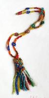 Rainbow Jellyfish Necklace