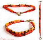 Sunset Cactus Bracelet