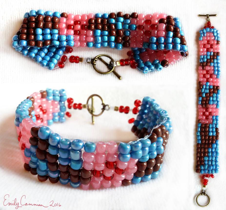 Sakura Bracelet by EmilyCammisa