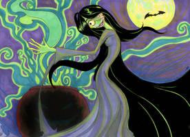 Emily and David's Creepy Halloweeny Art by EmilyCammisa