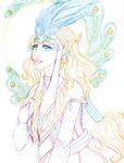 Carnival Priestess Lineart