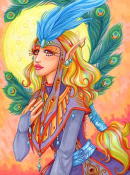 Carnival Priestess Colored