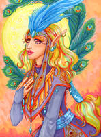 Carnival Priestess Colored by EmilyCammisa