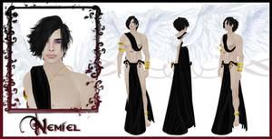 Nemiel Character Sheet by EmilyCammisa