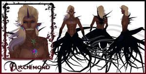 Archimond Character Sheet by EmilyCammisa