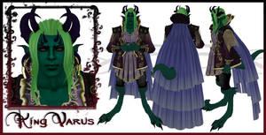 King Varus Character Sheet