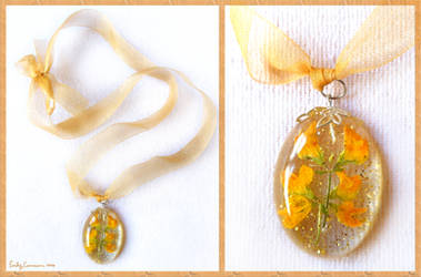 Flowers and Sunshine Necklace by EmilyCammisa