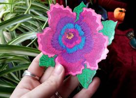 Hibiscus Flower Magnet - Alternate View by EmilyCammisa