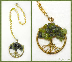Tree of Everlasting Life Necklace by EmilyCammisa