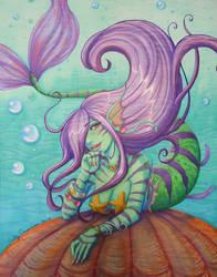 Maya the Mermaid 2017 by EmilyCammisa