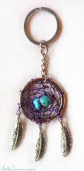 Hilda's Dreamcatcher Keychain by EmilyCammisa