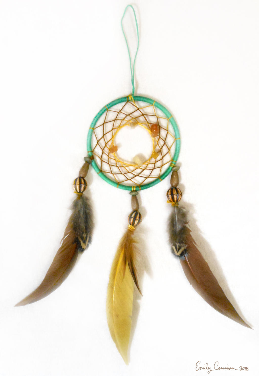 Spirit of the Hunter Dreamcatcher by EmilyCammisa