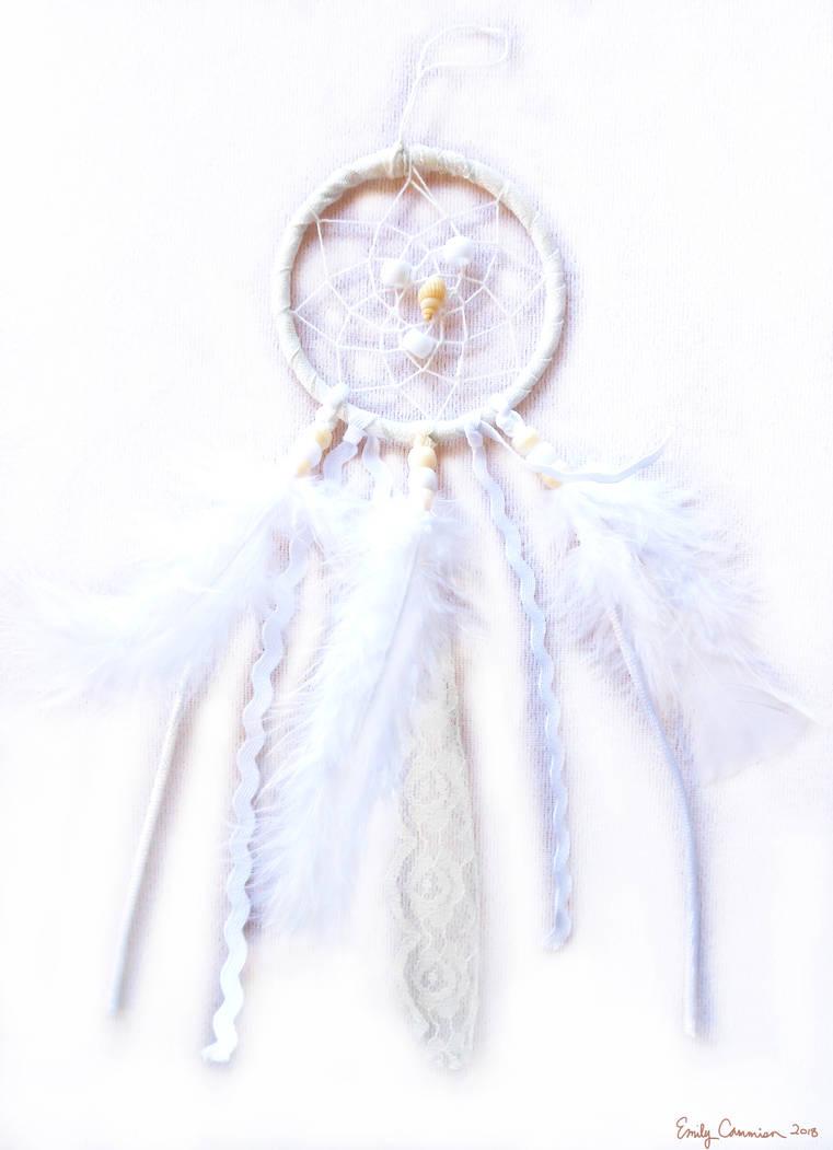 Purity of Spirit Dreamcatcher by EmilyCammisa
