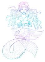 Sirena the Mermaid by EmilyCammisa