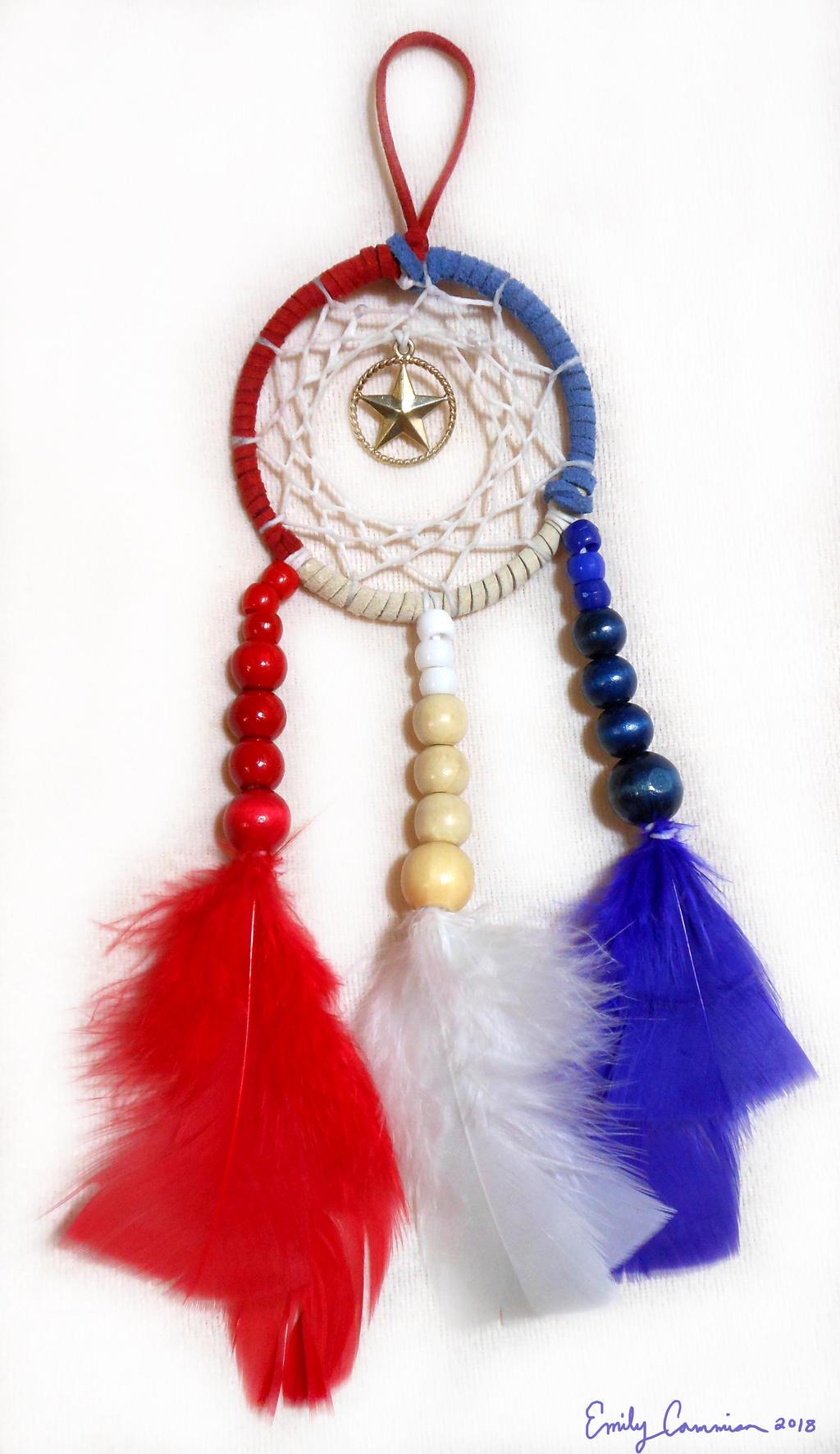 Spirit of America Dreamcatcher by EmilyCammisa