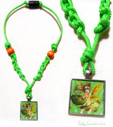 Fairy Sunclove Necklace by EmilyCammisa