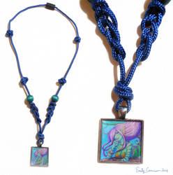 Maya the Mermaid Necklace by EmilyCammisa
