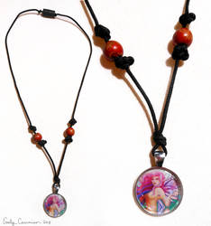 Sela the Springtime Fairy Necklace by EmilyCammisa