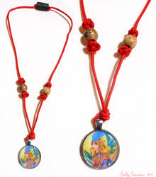 Carnival Priestess Necklace by EmilyCammisa