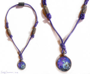 Maya the Mermaid 2010 Necklace by EmilyCammisa