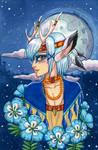 Moonflower Faun