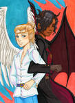 Luciel and Asmodeus Colored