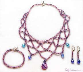 Mermaid Princess Jewelry Set