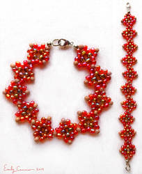 Passionate Love Diamond Weave Bracelet