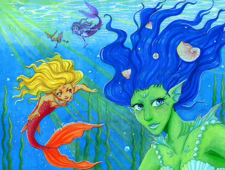 Rainbow Mermaids
