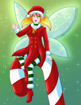 Candy Cane Fairy