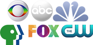 Logo Mashups: US and Brazilian networks