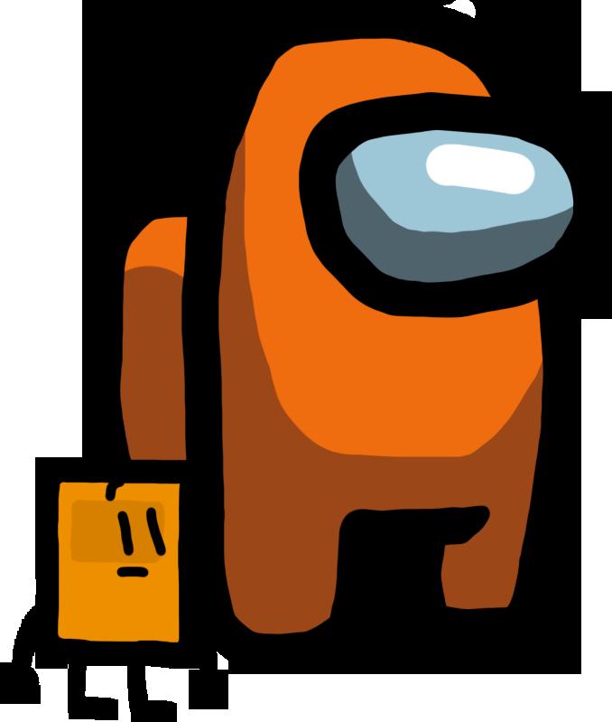 Among Us character: Orange Book by UnitedWorldMedia on ...