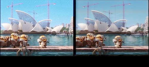 VHS effect comparisons