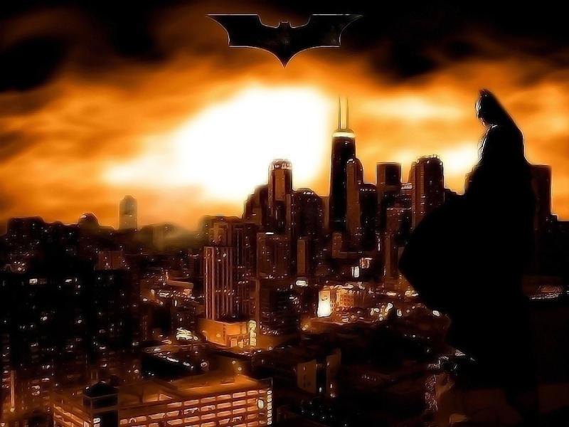 Gotham City Skyline Batman Batman Begins Gotham City by