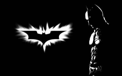 Batman - Black and White by PolishTank48