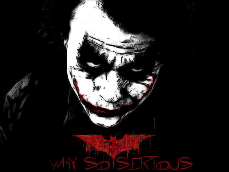 The Joker - Why So Serious by PolishTank48 on DeviantArt  The Joker - Why...