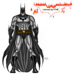 Michael Turner Batman colored