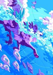 Ocean by lynstrommr