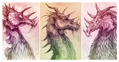 Dragons. by 3001