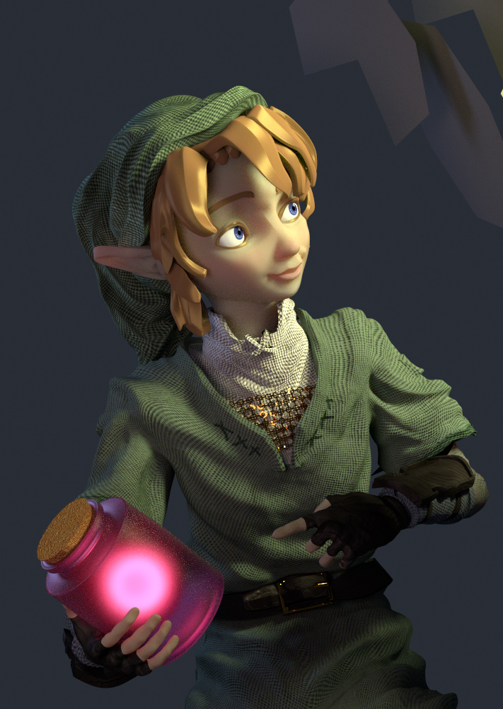 Link (model) by Yepezzzz