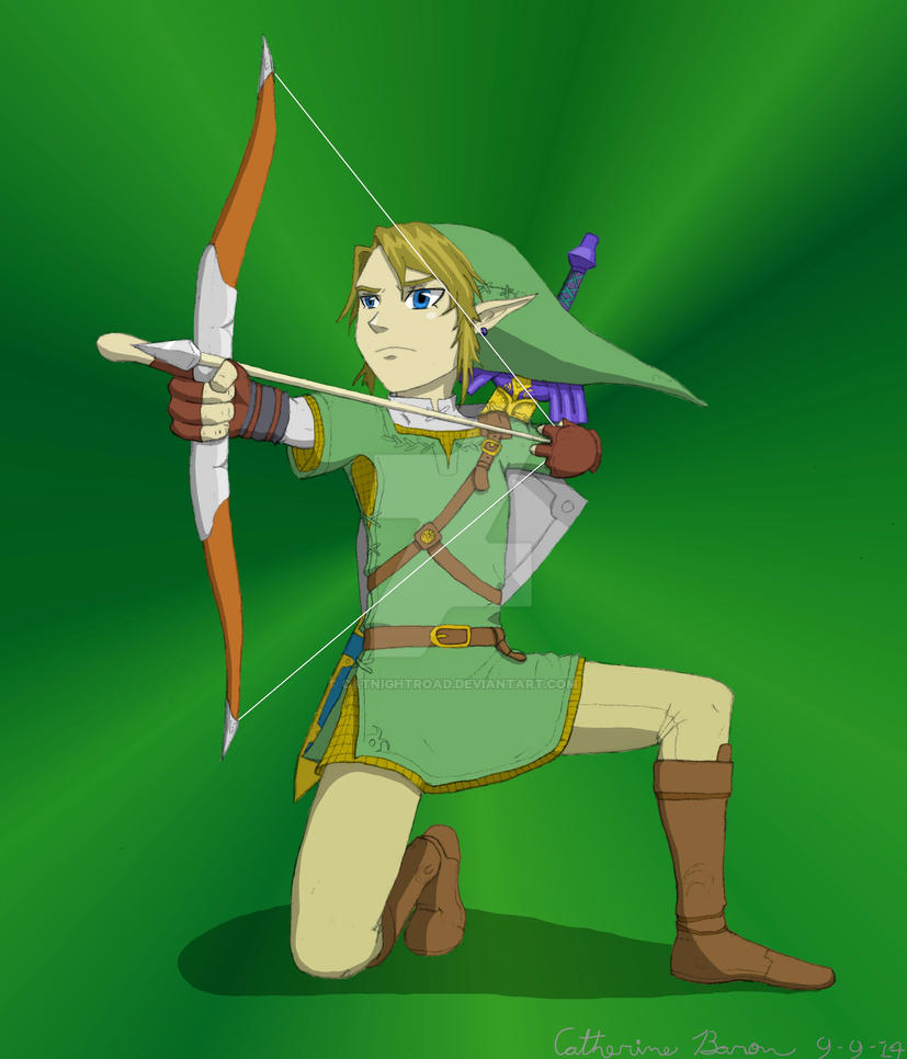 Link - Twilight Princess by CatNightroad