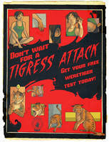 Don't Wait for a Tigress Attack! by nothere3