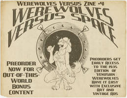 Werewolves Versus Space Promo by nothere3